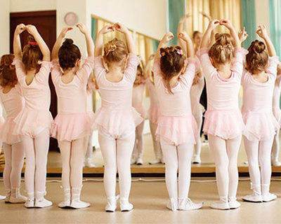 Tiny Tots dance classes at Ann Roberts School of Dance